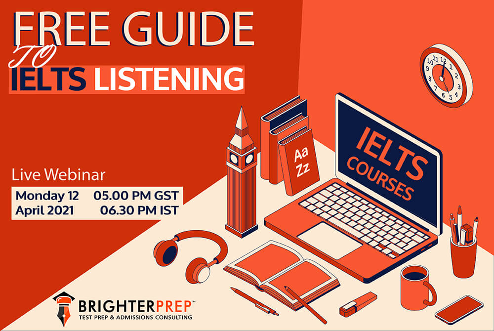 Free guide to IELTS Listening